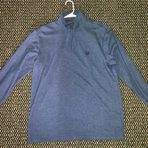 Chaps Long-Sleeve Quarter Zip Pullover